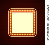 retro showtime sign design.... | Shutterstock .eps vector #364396226