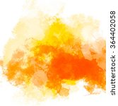 abstract watercolor painting. | Shutterstock . vector #364402058