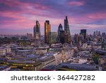 Bank District Of Central London ...