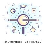 color vector illustration of a... | Shutterstock .eps vector #364457612