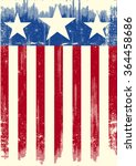 american theme grunge flag. a... | Shutterstock .eps vector #364458686