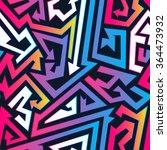 bright arrow seamless pattern. | Shutterstock .eps vector #364473932