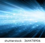 abstract blue background ... | Shutterstock . vector #364478906