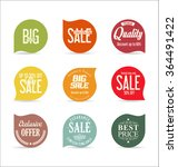 modern badges collection | Shutterstock .eps vector #364491422