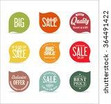 modern badges collection | Shutterstock .eps vector #364491422