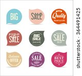 modern badges collection | Shutterstock .eps vector #364491425