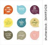 modern badges collection | Shutterstock .eps vector #364491428