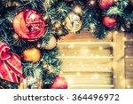 christmas decoration ornament... | Shutterstock . vector #364496972