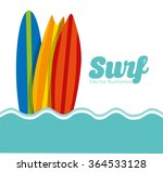 surf club design  | Shutterstock .eps vector #364533128