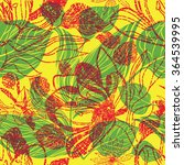 vector seamless floral pattern  ... | Shutterstock .eps vector #364539995