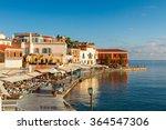 bay of chania  at sunny summer... | Shutterstock . vector #364547306