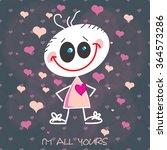 valentine's day background ... | Shutterstock .eps vector #364573286
