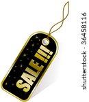 gold label | Shutterstock .eps vector #36458116