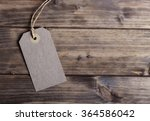 blank price tag on the... | Shutterstock . vector #364586042