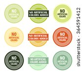 additives free stamp vector... | Shutterstock .eps vector #364591412