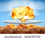 nuclear bomb explosion   Shutterstock .eps vector #364639742