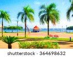 seafront | Shutterstock . vector #364698632