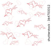 love  valentine's day holiday | Shutterstock .eps vector #364703312