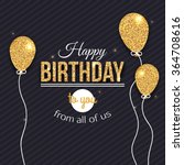 Happy Birthday Vector Card....