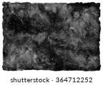 black and white watercolor... | Shutterstock . vector #364712252