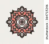 mandala. gothic lace tattoo.... | Shutterstock . vector #364715246
