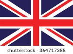 british flag vector | Shutterstock .eps vector #364717388