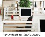 office desk | Shutterstock . vector #364720292