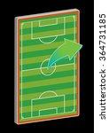 soccer field | Shutterstock .eps vector #364731185