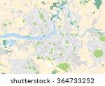 vector city map of limerick ... | Shutterstock .eps vector #364733252