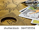 the sun shown by fortune...   Shutterstock . vector #364735556