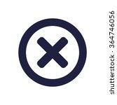 cross icon jpg   Shutterstock .eps vector #364746056
