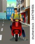 a vector illustration of man... | Shutterstock .eps vector #364748486