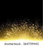 gold glitter dust texture. gold ... | Shutterstock .eps vector #364759442