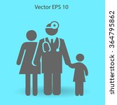 family practice vector... | Shutterstock .eps vector #364795862
