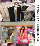 Small photo of Cologne,Germany- September 4,2013: Popular british magazines in english language on display in a store in Cologne,Germany
