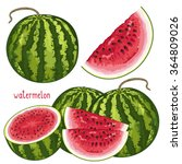 Watermelon Isolated  Watermelo...