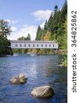 the historic goodpasture... | Shutterstock . vector #364825862