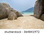 Beautiful Rock Beach With Sea...