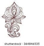 permanent   tattoo  tattooed  ... | Shutterstock . vector #364846535