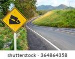 Steep Hill Descent Sign Side...