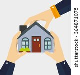real estate business | Shutterstock .eps vector #364871075