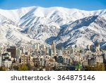 Winter Tehran  View With A Sno...