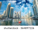 buildings and skyline of dubai... | Shutterstock . vector #364897226