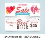 sale website header or banner... | Shutterstock .eps vector #364900562