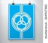 three circles oriental style...   Shutterstock .eps vector #364927382