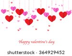 heart pattern.happy valentines... | Shutterstock .eps vector #364929452