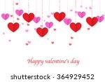 heart pattern.happy valentines... | Shutterstock .eps vector #364929452