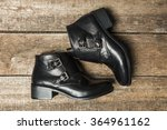black women's shoes | Shutterstock . vector #364961162