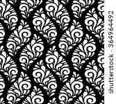 vector floral seamless pattern... | Shutterstock .eps vector #364964492