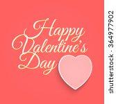 valentines day vintage...   Shutterstock .eps vector #364977902